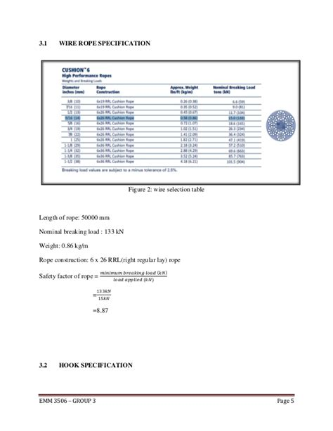 wire rope weight calculator introduction drawing calculation for winch design