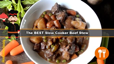 how to make a beef stew how to make the best slow cooker beef stew
