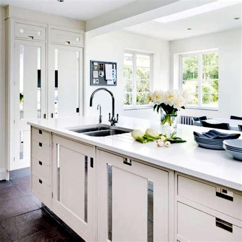 setting up classic white kitchen 15 refined kitchen