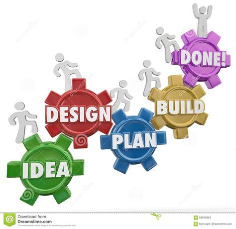 Idea Design Build Libertyville   idea design plan build done instructions project job task