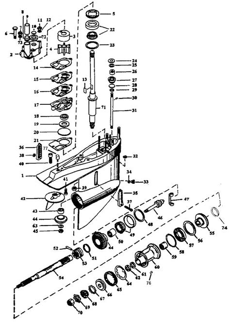 mercruiser alpha one outdrive parts diagram exploded view mr and alpha one marine parts house