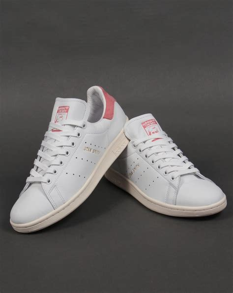 Original Adidas Stan Smith Pink adidas stan smith trainers white pink originals shoes mens