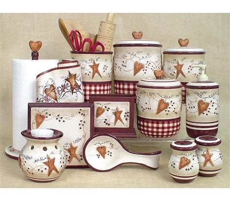 hearts and stars kitchen collection best 25 primitive kitchen decor ideas on pinterest