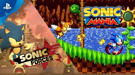 Ps4 Sonic Forces sonic mania and sonic forces ps4 gameplay demo e3 2017