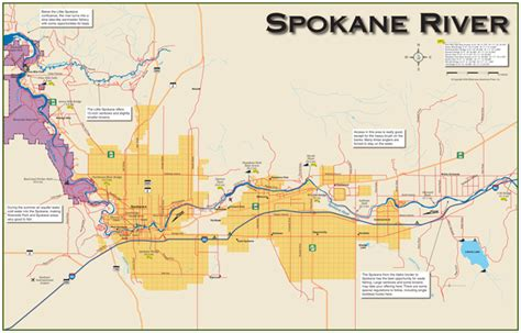 spokane map where to fish the spokane river spokane river fishing holes lip rippers fishing