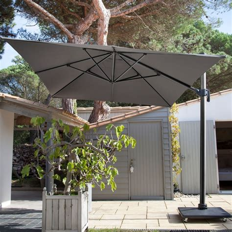 Parasol Deporte Inclinable by Parasol D 233 Port 233 Inclinable Aluminum 3x4 M Gris