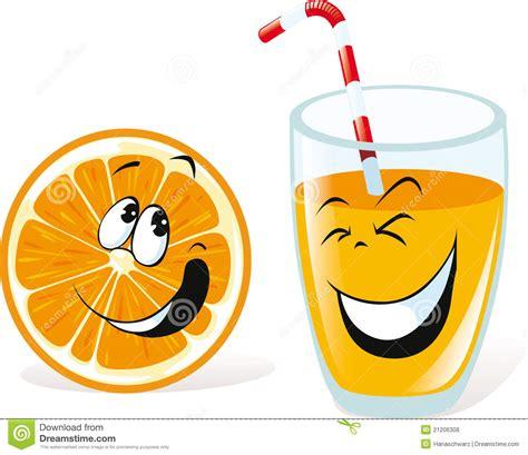 imagenes de jugos naturales animados naranja y jugo ilustraci 243 n del vector ilustraci 243 n de