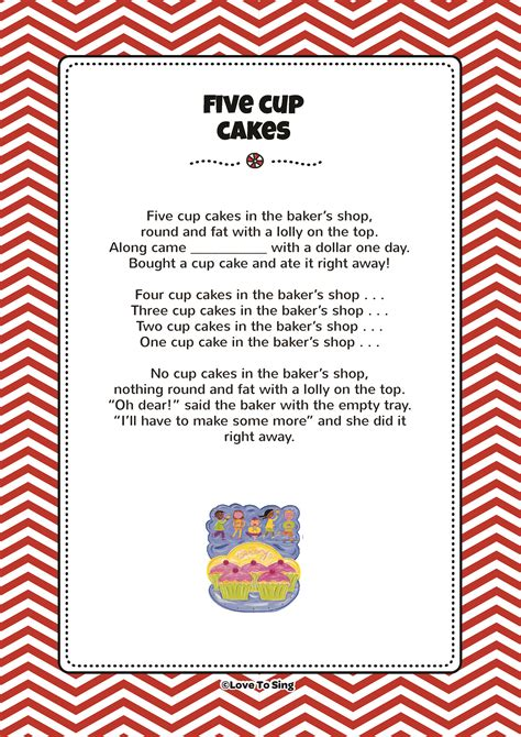 back number song lyrics five cup cakes kids video song with free lyrics