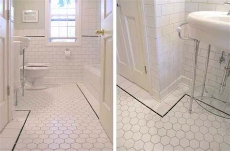 antique bathroom tile vintage style tile floor search in the can