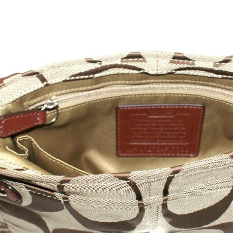 Coach Chelsea Small Flap by Coach Chelsea Signature Small Flap Swing Crossbody Bag