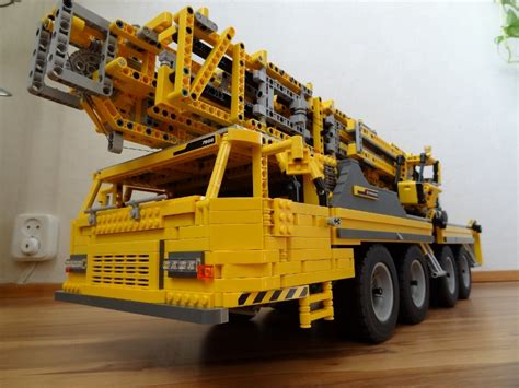 big mobile big mobile crane ii lego technic mindstorms