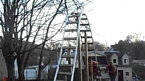 backyard pvc roller coaster back yard pvc roller coaster with a 12 ft drop youtube