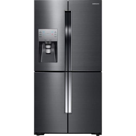 samsung refrigerators door samsung 22 5 cu ft door refrigerator in black