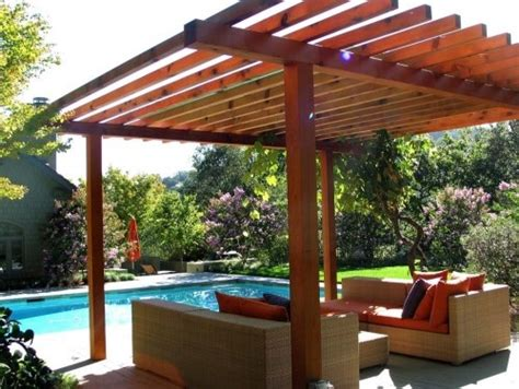 Simple Pergola Backyard Time Pinterest Easy Pergola Ideas