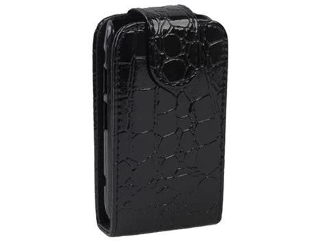 Flip Cover Disney Type Blackberry Dakota 9900 croco bottomflip hoes blackberry bold 9900