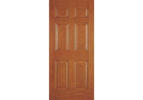 Six Panel Exterior Wood Doors Drg60n002 Calypso Plastpro 20 Minute Woodgrain 6 Panel Entry Door 1 3 4 Quot