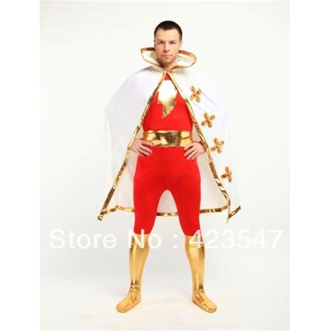 Costume Marvel Captain F766 aliexpress buy justice league the flash captain marvel metallic spandex captain marvel