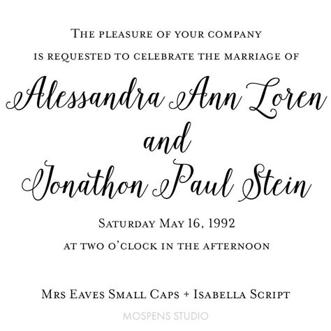 wedding font mrs eaves small caps mrs eaves small caps script wedding fonts