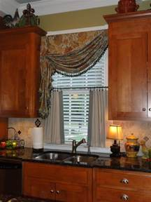 Kitchen Window Coverings by Simply By Sabrina Kitchen Window Treatment Add On