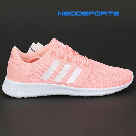 imagenes zapatos adidas para damas zapatillas para mujer adidas cloudfoam qt racer aw4005