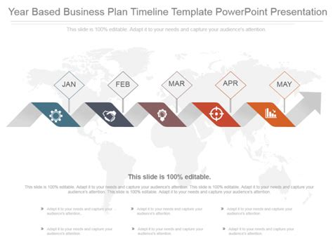 Powerpoint Tutorial 22 Create An Attention Grabbing Timeline Template In 5 Minutes The Business Plan Timeline Template