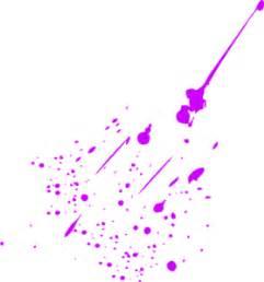 neon paint splatter clipart