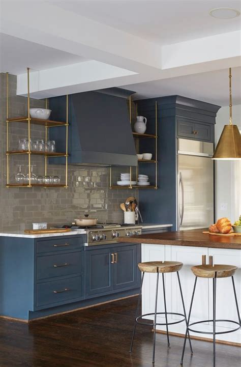 dark blue kitchen best 25 dark blue kitchens ideas on pinterest dark blue