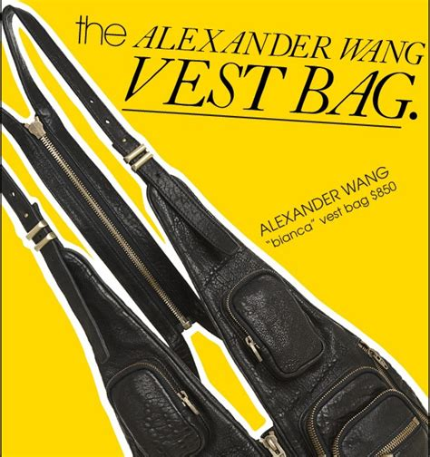 Articles The Search For The Bag by Wang Vest Bag