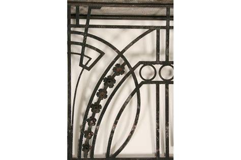 art deco balcony art deco wrought iron balcony panel with returns circa 1920