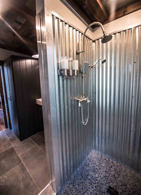 the 25 best ideas about galvanized shower on