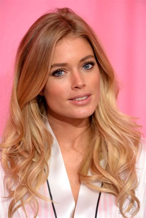 hair shows in new york 2013 doutzen kroes hair this kind of ombre hairstyles