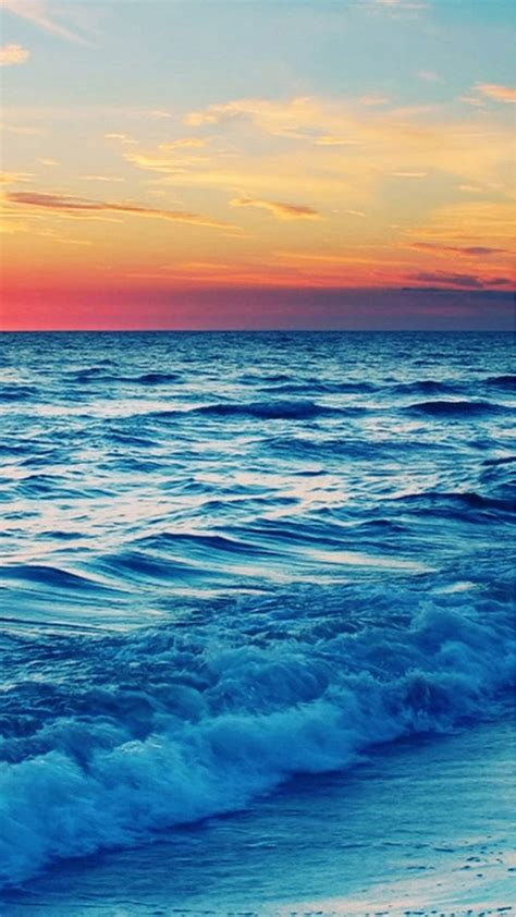 wallpaper for iphone 6 plus nature nature sunset sea wave landscape iphone 6 plus