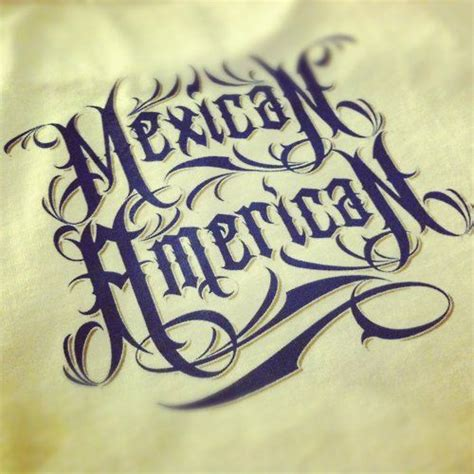 tattoo fonts up and down mexican pin up mexican american lettering