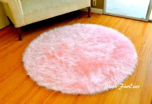 Pink Area Rug For Nursery Pink Nursery Rug Baby Pink Luxury Faux Fur Throw Area Rug