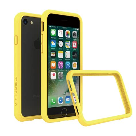 Rhinoshield Iphone 7 Plus Bumper Blue rhinoshield crashguard bumper for iphone 7 7 plus 6s 6 ebay