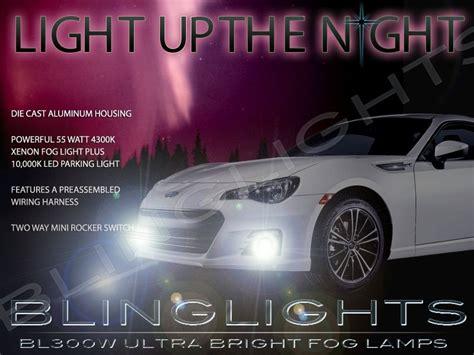 subaru brz fog light kit subaru brz xenon fog ls driving lights kit