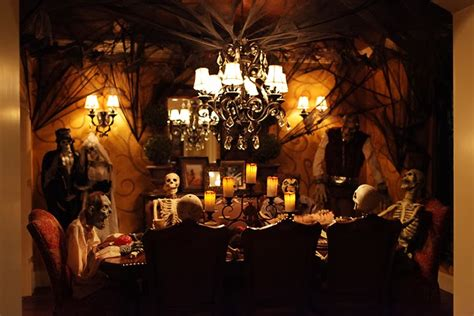 Morbid Home Decor La Maison Boheme Ghoulish Halloween Dinner Party