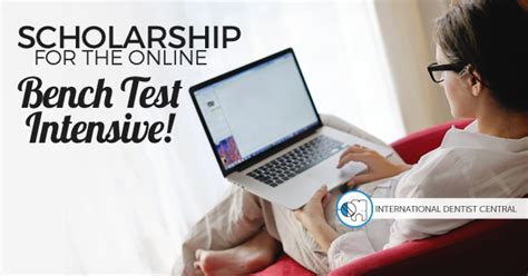 online bench test scholarship internship for the online bench test intensive