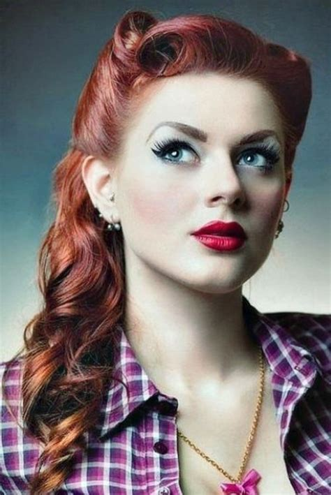 50s swing hairstyles rockabilly hairstyles for hair rockabilly pinup