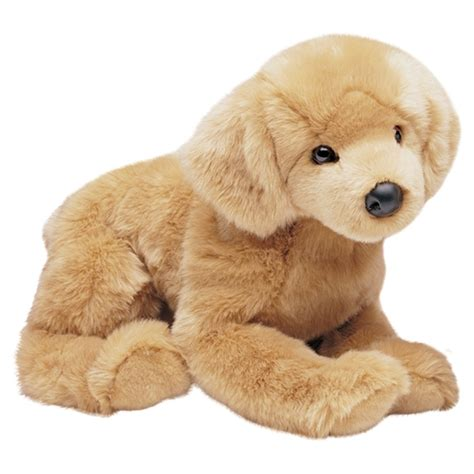 golden retriever with stuffed animal honey the big plush golden retriever by douglas