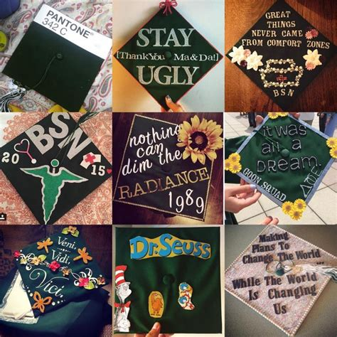 What To Use To Decorate Graduation Cap by Creative Grad Caps From Binghamton S