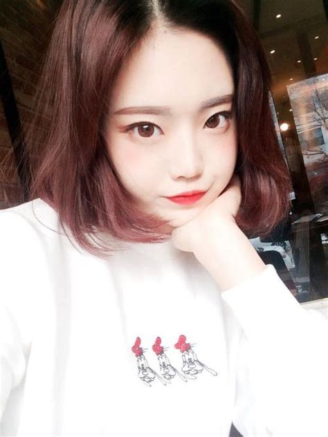 ulzzang medium hair style image via we heart it https weheartit com entry