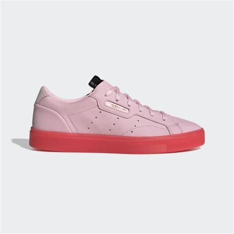adidas sleek shoes pink adidas