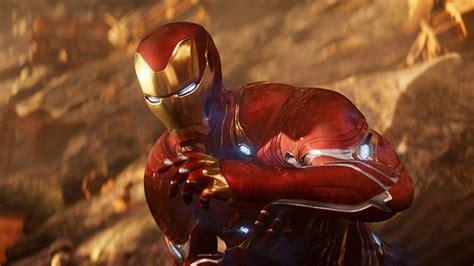 iron man die avengers endgame