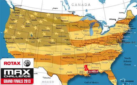map usa new rotax kart new orleans travel information