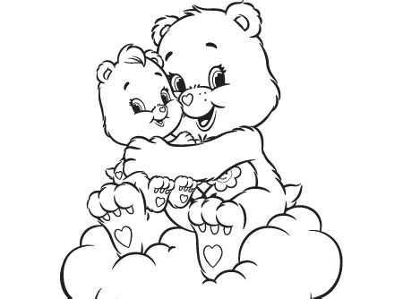 wonderheart bear coloring pages a friend indeed care bear canada welcome to carebears ca