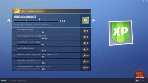 fortnite not working fortnite br weekly challenges not working due to v4 2 delay