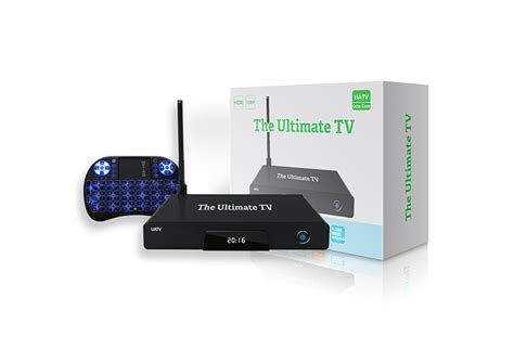 the official ultimate tv uatv box the ultimate tv