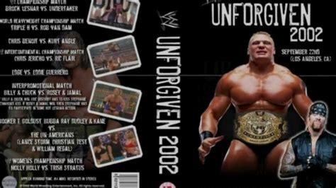 unforgiven theme song wwe unforgiven 2002 theme song full hd youtube