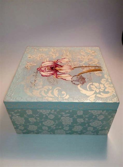 decoupage jewelry box ideas 1000 ideas about decoupage box on decoupage